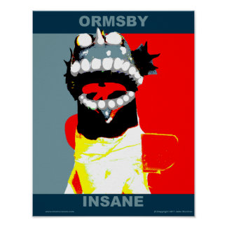 Ormsby Campaign Style Poster