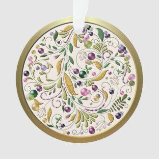 Ornament - Acrylic - Tuscan Circle