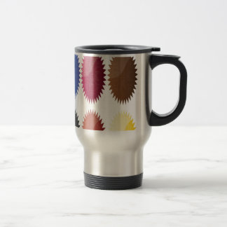 Ornament badges design mug
