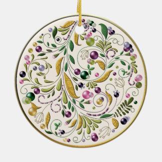 Ornament - Ceramic - Tuscan Circle
