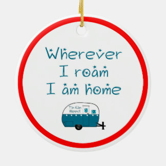 ORNAMENT Christmas Camper