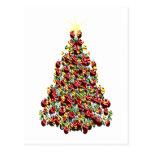Ornament Christmas Tree Post Card