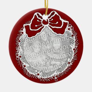 Ornament - Christmas Wreath Photo