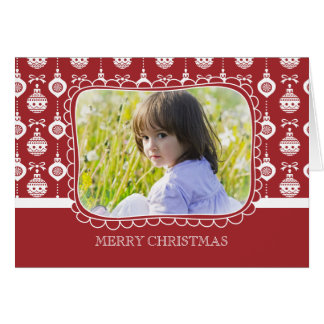 Ornament Delight - Photo Holiday Card