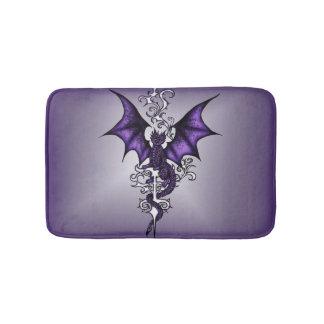 Ornament Dragon Bath Mat