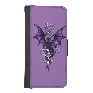 Ornament Dragon iPhone SE/5/5s Wallet Case
