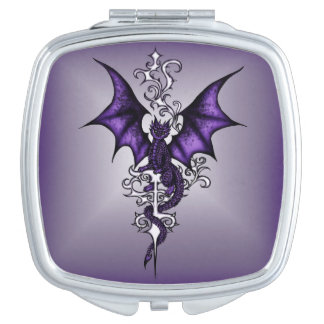 Ornament Dragon Makeup Mirrors