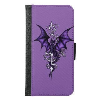 Ornament Dragon Samsung Galaxy S6 Wallet Case