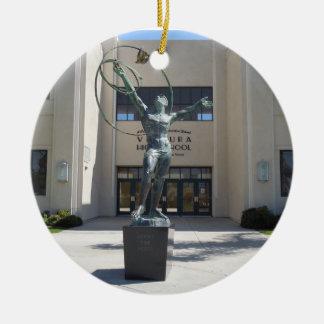 Ornament Entrance, Ventura High School, California
