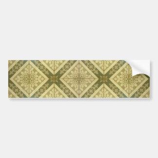Ornament Floor Design Bumper Sticker