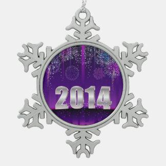 Ornament Happy New Year 2014