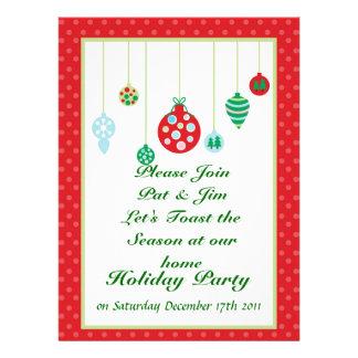 Ornament Holiday Invitation