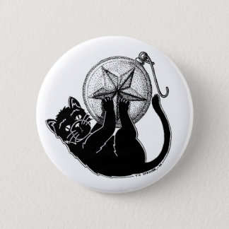 Ornament Kitty 6 Cm Round Badge