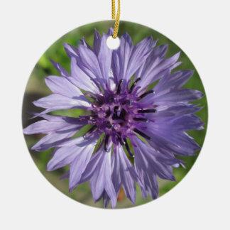 Ornament - Lilac Purple Bachelor s Button