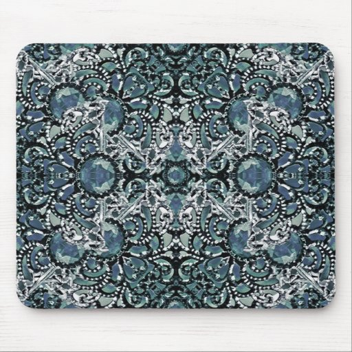 Ornament Luxury Pattern Mouse Pads