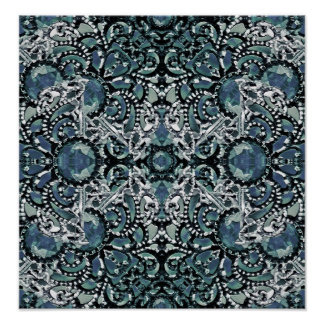 Ornament Luxury Pattern Poster