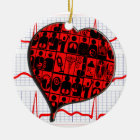 ORNAMENT MEDICAL SPECIALTIES - HEART - CARDIOGRAM