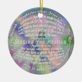 ORNAMENT Messianic Prophecies ISAIAH 65:1 Matthew