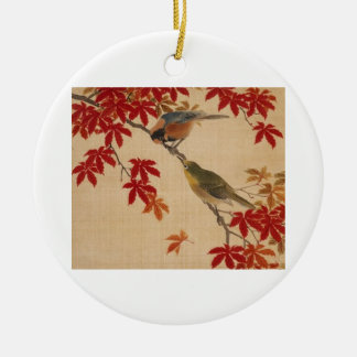 Ornament of two birds.