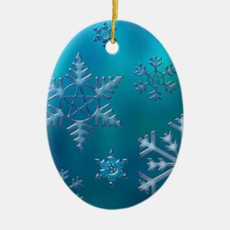 ornament_oval ceramic ornament