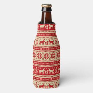 Ornament Pattern Bottle Cooler