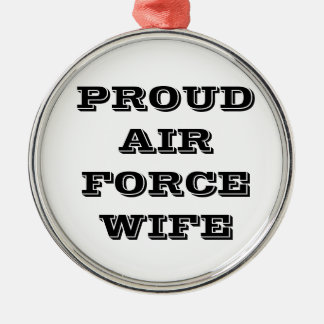 Ornament Proud Air Force Wife