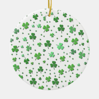 Ornament - Showers of Shamrocks - St Patrick's Day