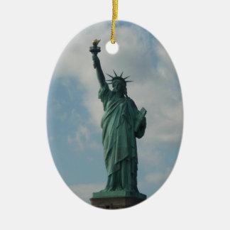 Ornament: Statue of Liberty Ceramic Ornament