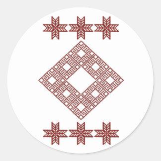 Ornament TIL Round Sticker