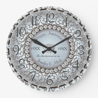 Ornamental Anniversary Clock