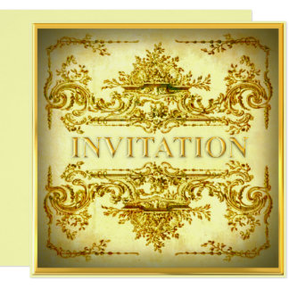 Ornamental Baroque Party Invitation