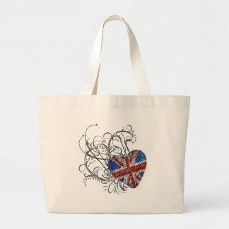 Ornamental British Flag Tote Bag