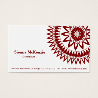 Ornamental Consultant Business Card