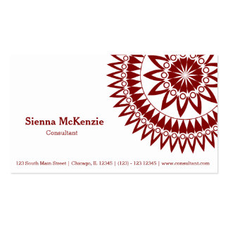 Ornamental Consultant Pack Of Standard Business Cards