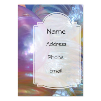 Ornamental Dreams Pastel Glass Ornaments Pack Of Chubby Business Cards