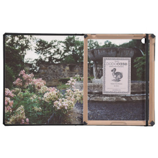 Ornamental Garden, Roses and a Fountain Covers For iPad