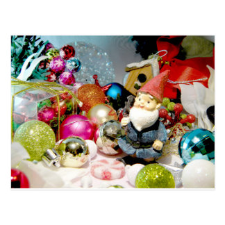 Ornamental Gnome Postcard
