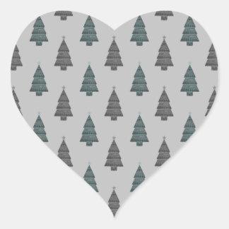 ornamental! green heart stickers