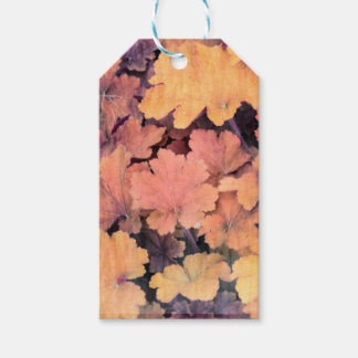 ornamental leaves in the garden gift tags