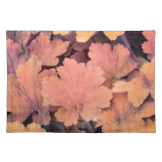ornamental leaves in the garden placemat
