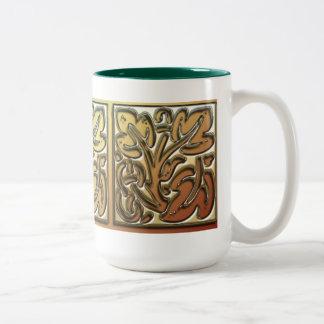 Ornamental Leaves Coffee Mug