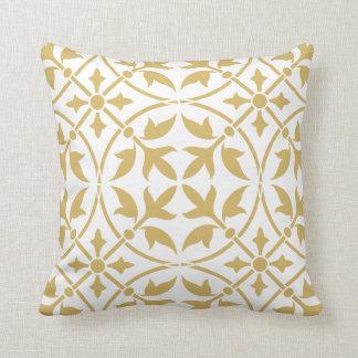 Ornamental medieval pattern cushions