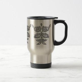 Ornamental Metal Mug