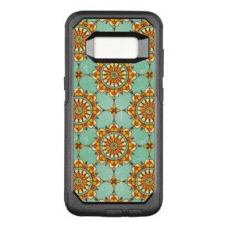 Ornamental pattern OtterBox commuter samsung galaxy s8 case