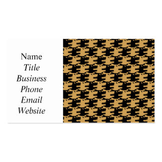 ornamental pattern wolf indomitable Double-Sided standard business cards (Pack of 100)