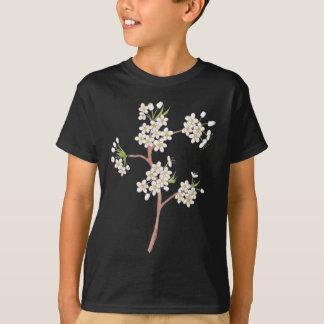 Ornamental Pear Blossoms Watercolor T-Shirt