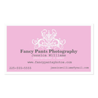 Ornamental Photography Pack Of Standard Business Cards
