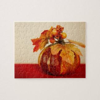 Ornamental Pumpkin Jigsaw Puzzle