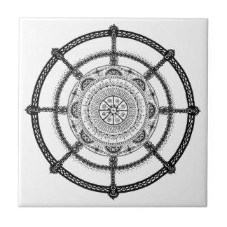 Ornamental Steering Wheel Deco Tile