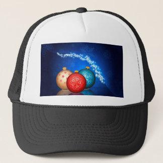 Ornamental Xmas Balls 2 Trucker Hat